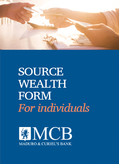 SOURCE OF WEALTH FORM <br>Applicable to: Individuals