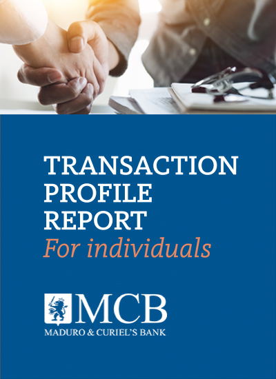 TRANSACTION PROFILE REPORT FORM <br>Applicable to: Individuals